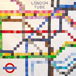 london tube quilt tube map patchwork quilt underground subway metro chart quilt london england uk transport for london sewing sew