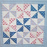 Tilda patchwork quilt centre from Tikki London England UK