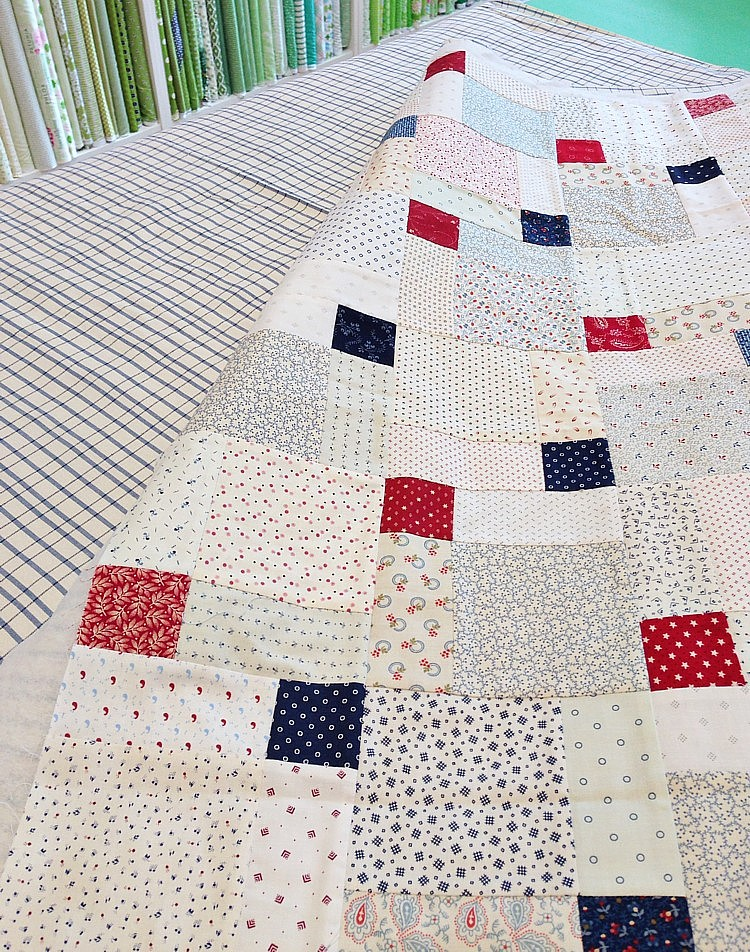 patchwork quilt kits for beginners