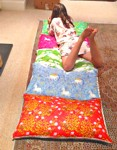 sleepover mattress pattern tutorial instructions sewing sleep over portable bed