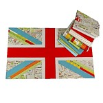 Union jack english flag quilt pattern mini pdf patchwork